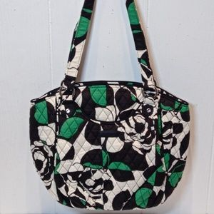 NWT Vera Bradley Glenna Shoulder Bag Imperial Rose